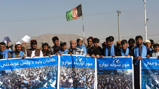 Kidnapped Afghan People's Peace Movement marchers freed