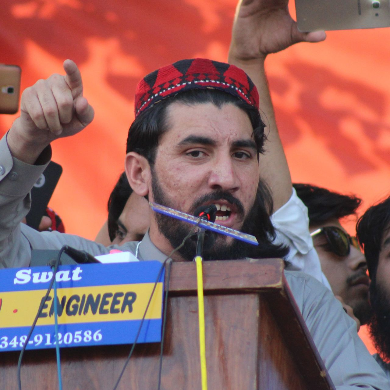 Prominent Pakistani rights activist Manzoor Pashteen arrested