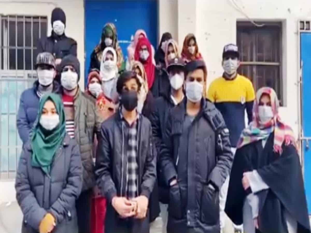 Families of Pakistanis stranded in China  demand students' return and  reject govt briefing.