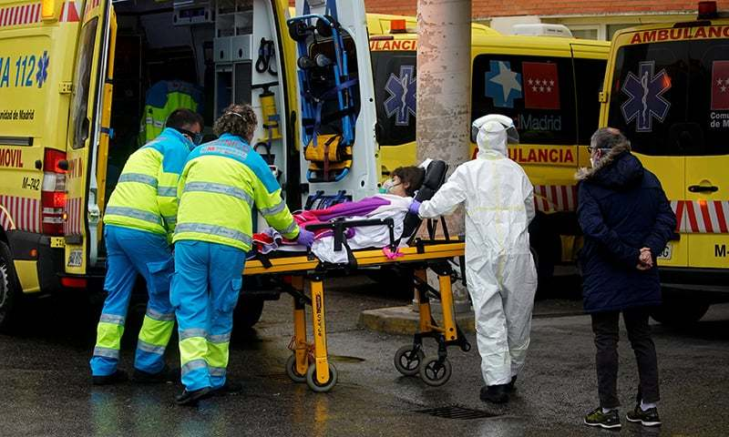 Europe's hospitals can't handle pandemic engulfing continent
