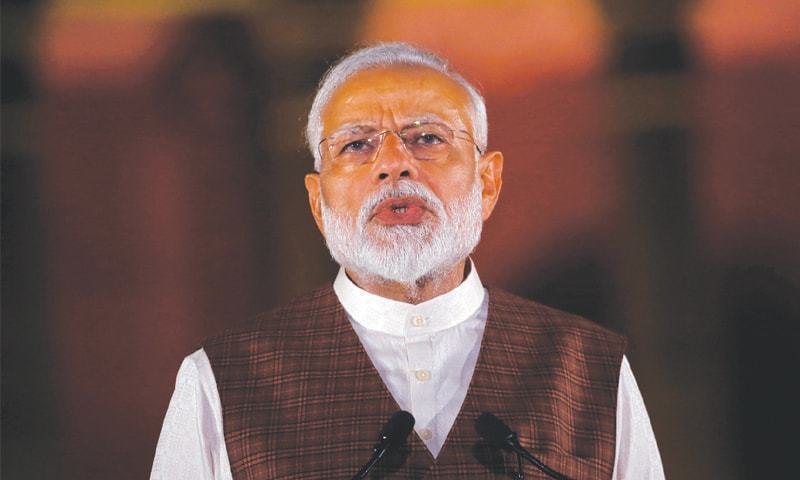 India gave a befitting reply to 'those coveting our territories', says Modi